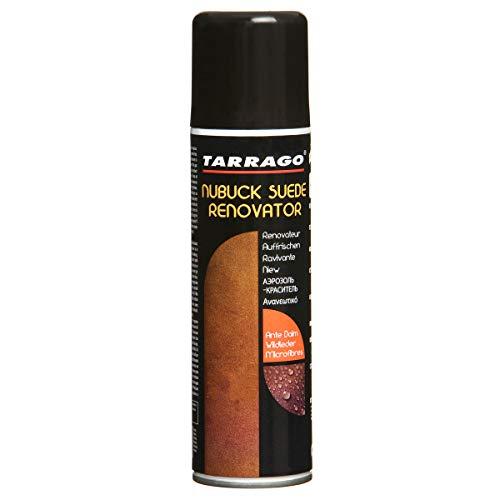 Tarrago Suede Renovator, Spray para Zapatos y Bolsos Unisex Adulto, Marrón (Dark Brown 06), 250 ml