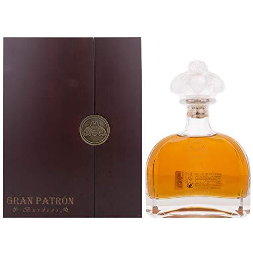 Tequila Patron Burdeos (wooden case)