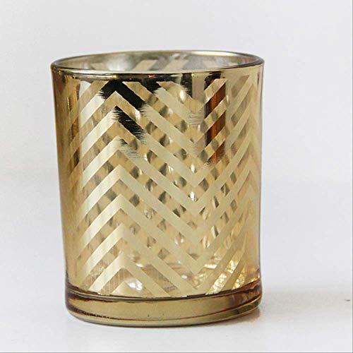 DOUYA Einzigartig Klar Kerzenhalter Aus Glas - Kerzenhalter Kreative Verzierung Für Heimtextilien,Origami Keramik Kerzenhalter Crafts Candle Cup