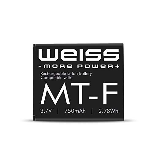 Weiss Akku für Fritz!Fon C4 / C5 / M2 / MT-F 750mAh [ersetzt: AVM 312BAT016 (Akku Fritz Fon C4, Akku Fritz Fon M2) / 312BAT006 (Akku Fritz Fon MT-F/Akku Fritz Fon C5] Li-Ion