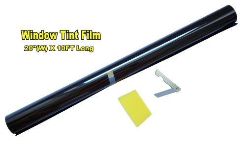 LEXEN 20' X 10FT ROLL 35% MEDIUM SHADE WINDOW TINTING FILM TINT UNCUT 20'x10' 35%