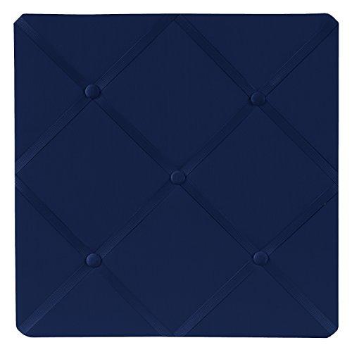 Sweet Jojo Designs Tableau d'affichage photo en tissu bleu marine