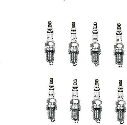 Set of 8 Mazda BMW Porsche Honda Acura Spark Plug NGK Iridium Resistor BKR7EIX