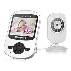 Digital Wireless Babyphone mit Kamera Video Monitor Nachtsicht Babypflege WLAN