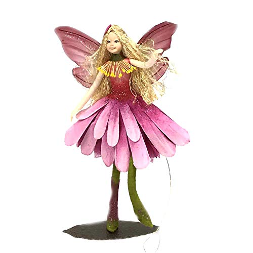 Fairy Family Collectable Figurine - Forest Fairies, Witch & Elves Ornament Gift Idea (Fairy Blossom)