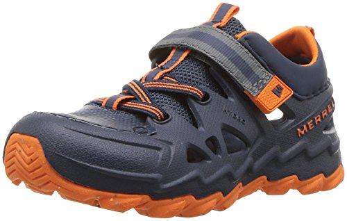 Merrell Boys' Hydro Junior 2.0 Sandal, Blue, 7 Medium US Toddler