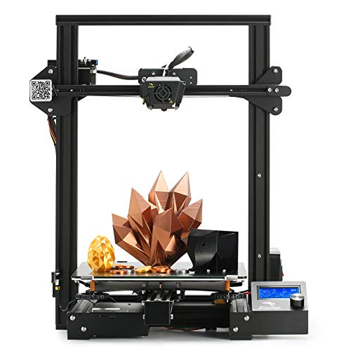 Creality Ender 3 Max 3D Printer Large with MeanWell Powerr Supply Silent Mainboard Carborundum Glass...