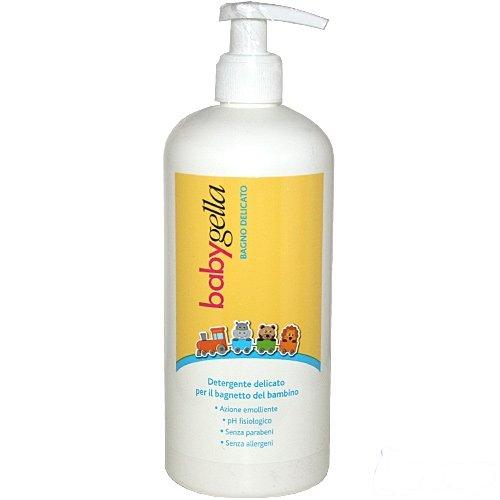 Babygella Bagno Delicato, Detergente delicato per il bagnietto del bambino, 500ml