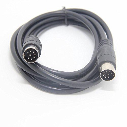 2 M Großes 8-Poliges Din-Stecker-Stecker-Audiokabel für Bang & Olufsen B & O Beolab Powerlink Mk2, Peavey Sanpera-Pedal Und Monster Clarity Hd Model One
