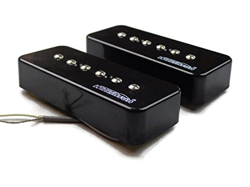 Wilkinson Cream P90 Set Neck Bridge Guitar Pickups Set Soapbar Us Seller