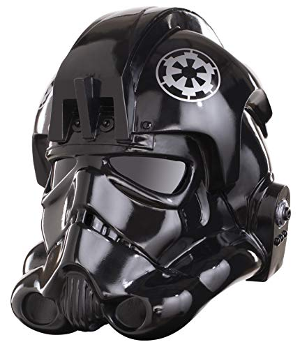Rubie's Men's Star Wars Collectors Edition Fighter Helmet, Black, One Size