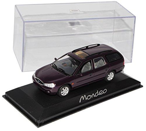 Minichamps Ford Mondeo Turnier Kombi Violett Bap/bfp/bnp 1996-2000 1/43 Modell Auto Modellauto