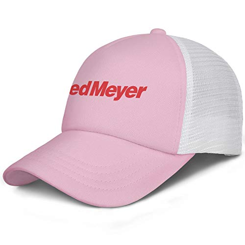 Unisex Man Baseball Hats Classic Adjustable Mesh Sun Fred-Meyer-Logo-Flat Caps