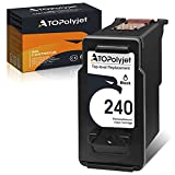 ATOPolyjet Remanufactured Replacement for Canon PG-240 240 Black Ink Catridge for TS5120 MG3620 MG3520 MG2120 MG3220 MG3600 MG4200 MG3522 MG3122 MX512 MX432 MX522 MX452 MX472 MX532 Printer