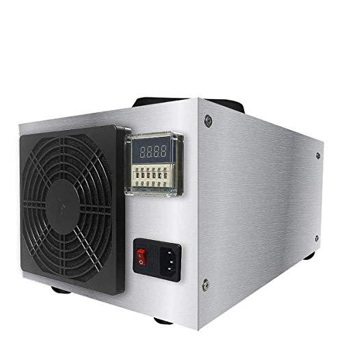QWWQ Generatore di Ozono Commerciale, Professionale Sterilizzatore, 50000 MG/h 220V Cleaner Commercial Purificatore d'Aria, Comfort in Acciaio Inox Professionale Ozonator Deodorante E Sterilizzatore