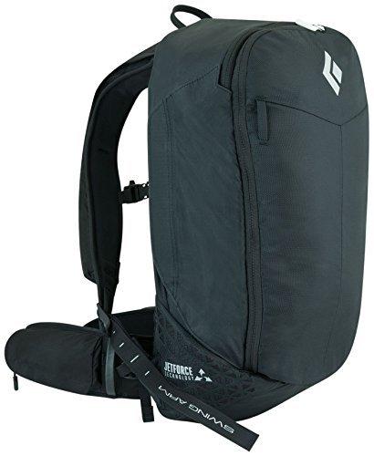 Black Diamond Pilot 11 JetForce Avalanche Airbag Pack, Black, Medium/Large by Black Diamond