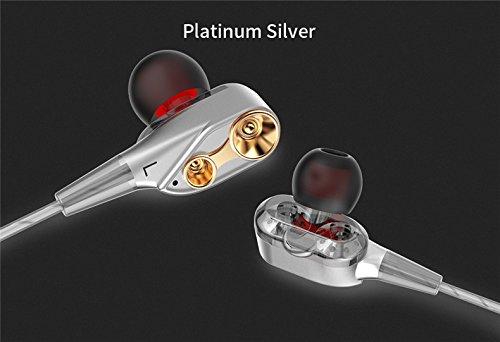 In-Ear-Doppelring-Laufspiel-Musik-Kopfhörer HIFI Kopfhörer C