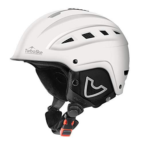 TurboSke Ski Helmet, Snow Sports Helmet, Snowboard Helmet Men Women Youth