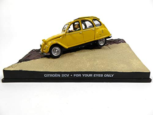 James Bond Citroen 2CV 007 For Your Eyes Only 1/43 (DY005)