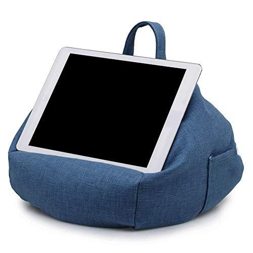 NGHXZ Tablet Kussen - Tapered Draagbare zitzak stand lap houder voor Alle tablets en eReaders