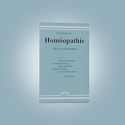 Homöopathie - Hinweise für Patienten
