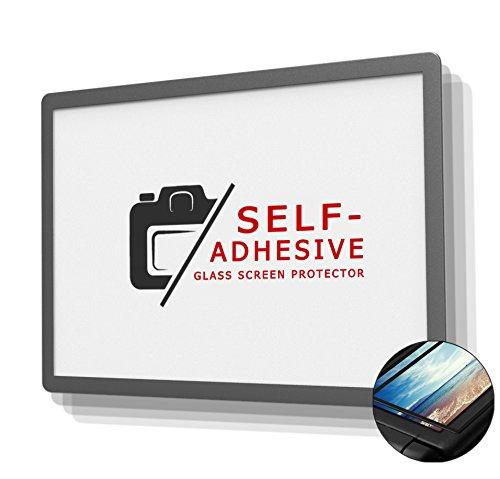 DolDer LCD Displayschutz Glas für Fujifilm X-T2/X-T1 - LCD-Echtglas-Protektor für Fujifilm X-T2/X-T1 Schicht-Prinzip Plus Schutzrahmen (Made by Larmor)