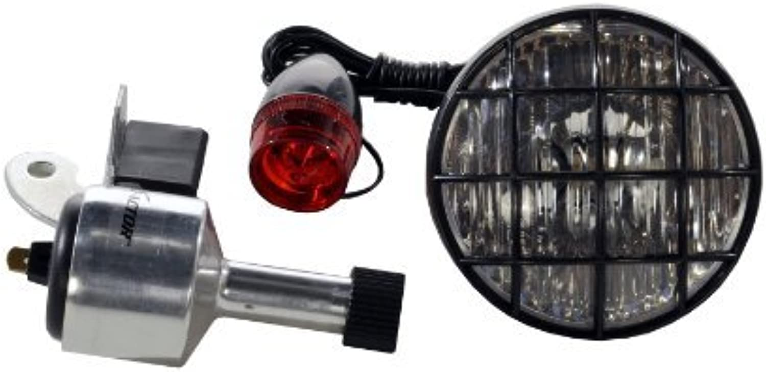 X Factor 3Inch Bicycle Generator Light Set by XFactor
