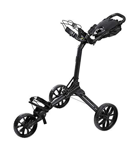 Bag Boy Push Cart Trolley mit 3 Rädern, Nitron, Schwarz, für Erwachsene, Unisex, Einheitsgröße