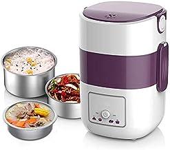 DYB 250W cuiseur à Vapeur électrique Multifonctionnel ménage Trois Couches 304 en Acier Inoxydable Split Hot Pot Mini Vape...