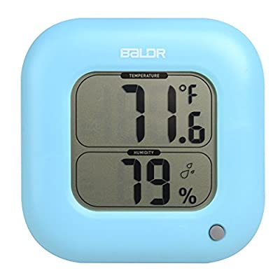 BALDR Thermo-Hygrometer Square Thermometer