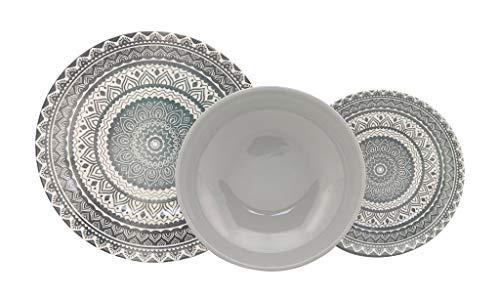 Piatti decoro vietri 18 pezzi porcellana