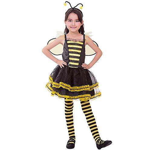 FREE BEAUTY Girls Honey Bee Costume…