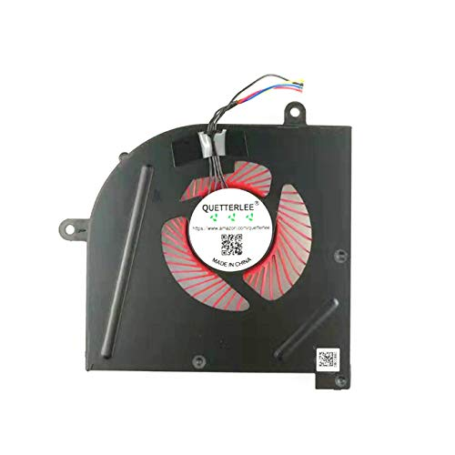 QUETTERLEE Replacement CPU Cooling Fan for MSI GS63 GS63VR GS73 GS73VR GS62 MS-17B1 MS-17B2 MS-16K2 MS-16K3 Stealth Pro BS5005HS-U2F1 Fan