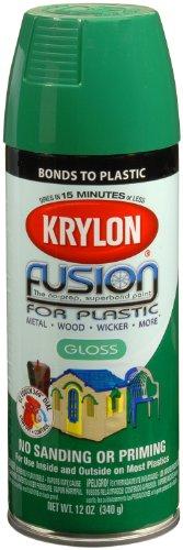 Krylon K02327001 Fusion for Plastic Spray Paint, Spring Grass