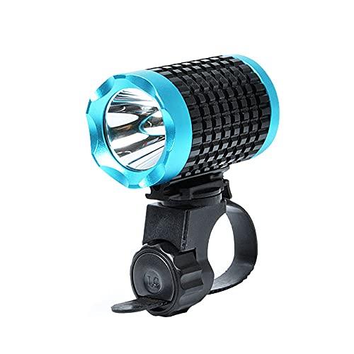 QQWJSH Dead Fly Luz de Bicicleta de montaña LED Impermeable Deslumbramiento Faros Delanteros de Coche Iluminación Nocturna Súper Brillante Estudiante Luz de Ciclismo General Luz de Coche para niños