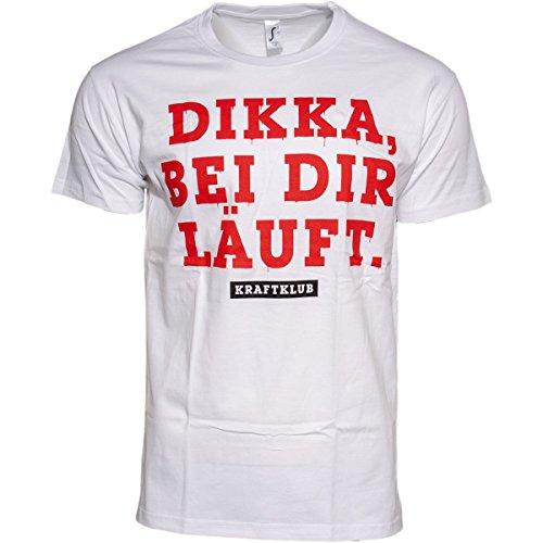 Kraftklub Dikka T-Shirt Weiss M