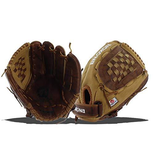 Nokona Buffalo Combo Fastpitch Softball Glove, Left Hand, 12.5-Inch