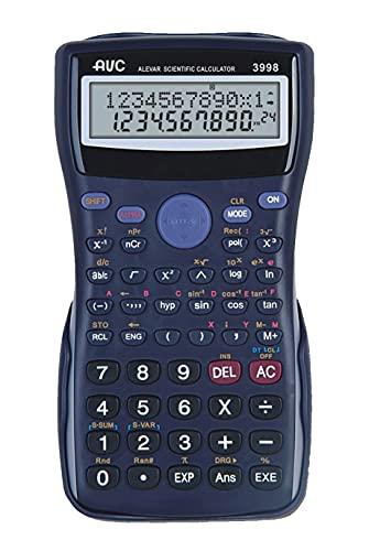 Calcolatrice AVC Scientifica 240 Funzioni NERO