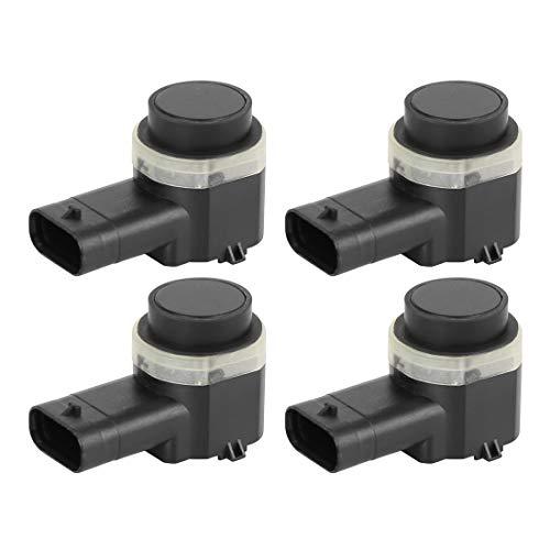 X AUTOHAUX 4pcs 4H0919275 Car Bumper Reverse PDC Parking Sensor for Audi A4 A5 A6 Q3 Q4 Q7 S4 S5 S8 R8 for Seat for VW Touareg CC