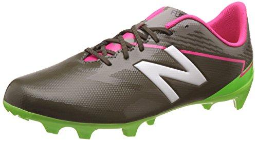new balance Men's Furon 3.0 Dispatch FG Military Green and Alpha Pink Football Boots - 9 UK/India (43 EU) (9.5 US)