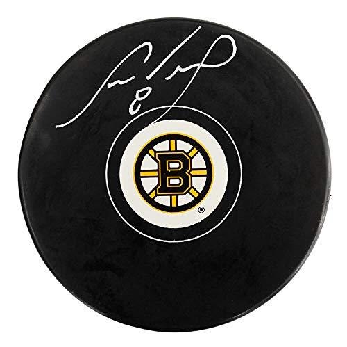 Cam Neely Signed Bruins Logo Hockey Puck - Schwartz Authentic