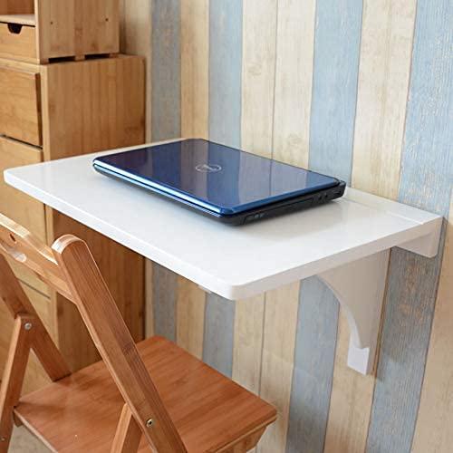 YWYW Mesa de Hojas abatibles montada en la Pared, Escritorio de computadora Plegable pequeño, mesas de Hojas abatibles para Espacios pequeños, Escritorio de Pared pequeño, Oficina, hogar, Cocina