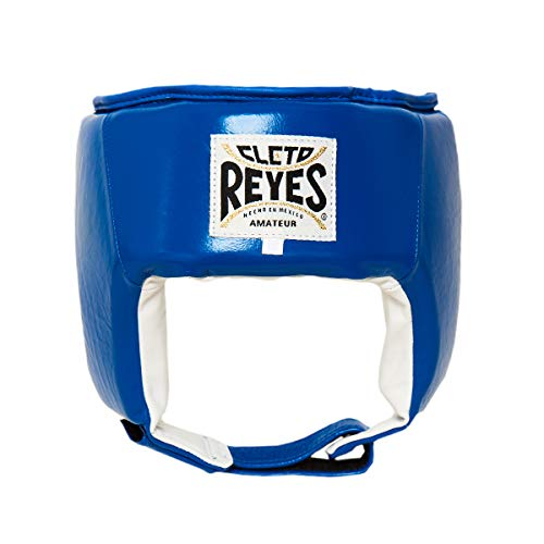 Cleto Reyes Official Amateur Headgear (Now Approved by U.S.A. Boxing) (L, Blue)