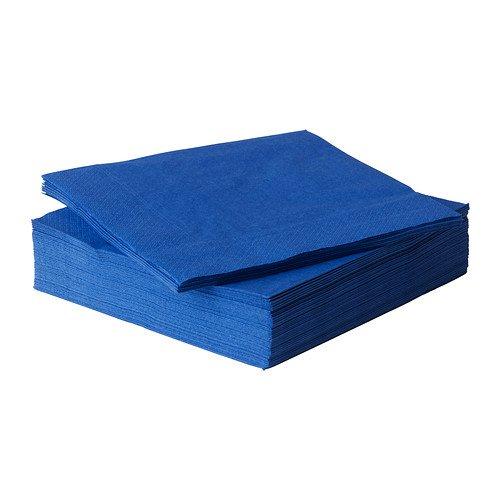 FANTASTISK ペーパーナプキン, ブルー 50ピース