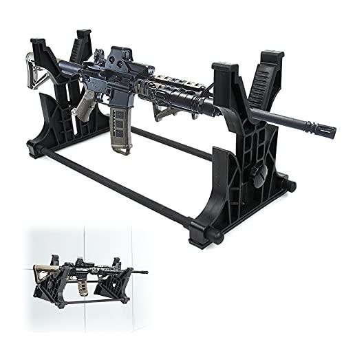 BLLJQ Bastidores De Armas, Soporte De Pared para Pistola, Almacenamiento Y Exhibición para Rifle, Escopeta, Airsoft