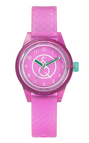 Q & Q mini Smile Solar orologio unisex, eco friendly by Citizen, 10 atm Water Resist RP01J011Y