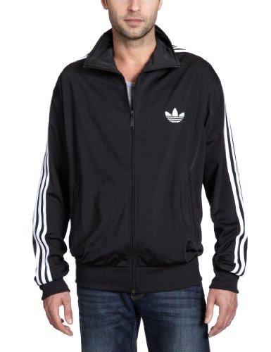 743967|Adidas Firebird TT Black White|XS
