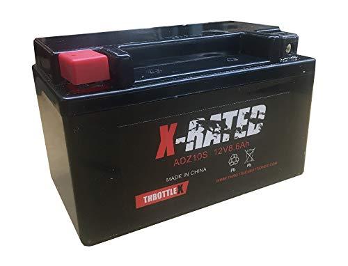 ThrottleX Batteries - ADZ10S - AGM Replacement Power Sport Battery