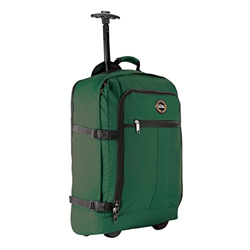 Cabin Max Carry on Luggage Rolling Backpack with Wheels 22x14x9'