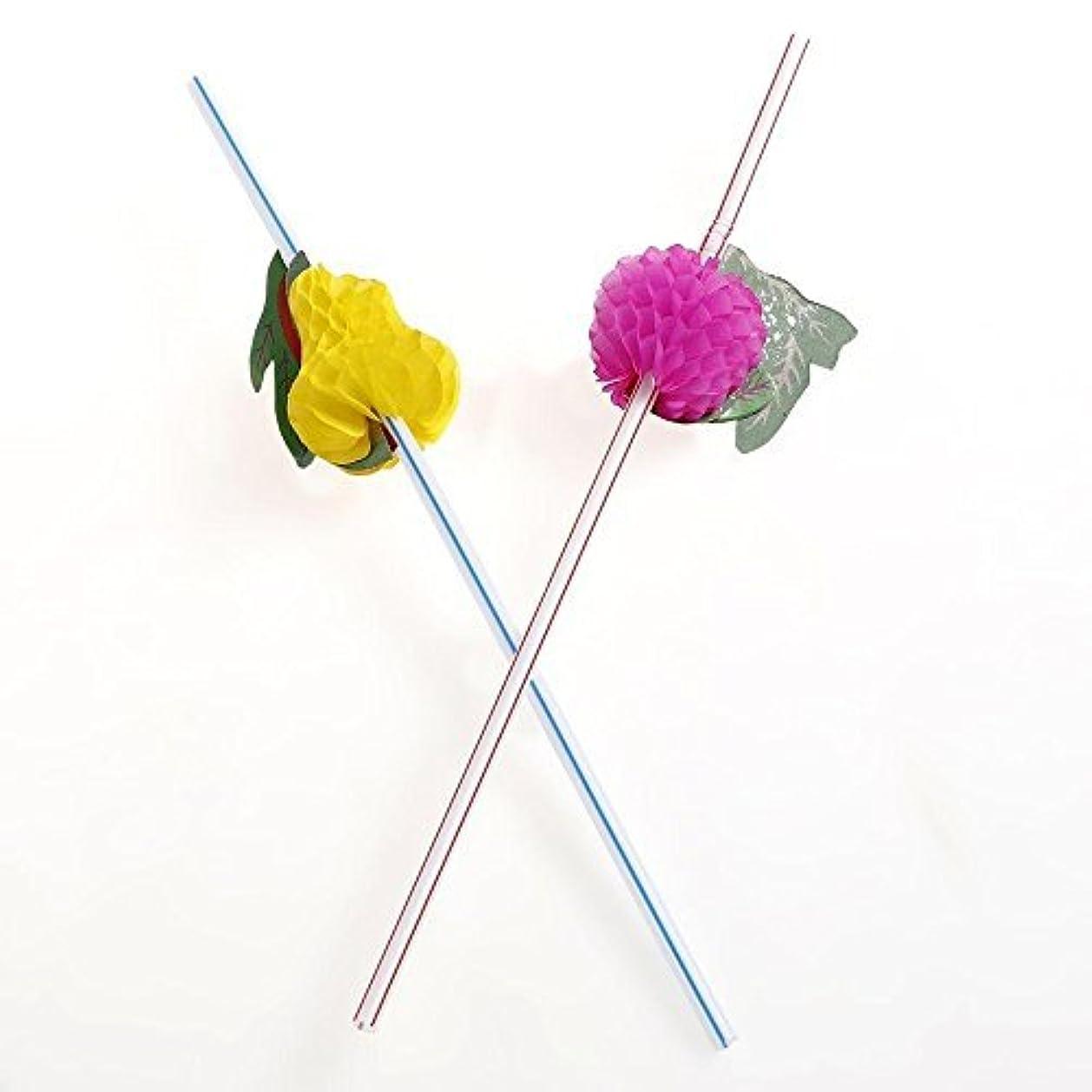 積極的にどちらか生産的誕生日パーティーのための多彩なフルーツストロー